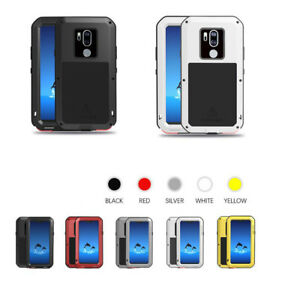 new concept b9831 a3894 Details about Love Mei Aluminum Metal Shockproof Waterproof Gorilla Glass  Case Cover for LG G7