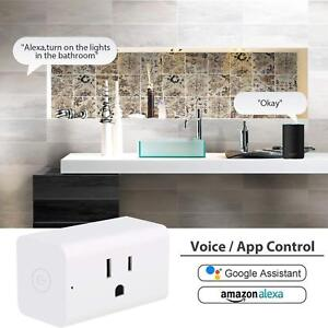 WiFi-Smart-Plug-Smart-Switch-Outlet-Fit-For-Amazon-Alexa-IFTTT-Google-Assistant