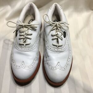Desde Brillar estético  Nike Airliner Women's Golf Shoes 8.5 Leather White Sports Tee | eBay