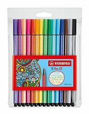 STABILO POINT 68 Colored Pen Set - 15 Premium pens, DRAWING, COLORING, SKETCH