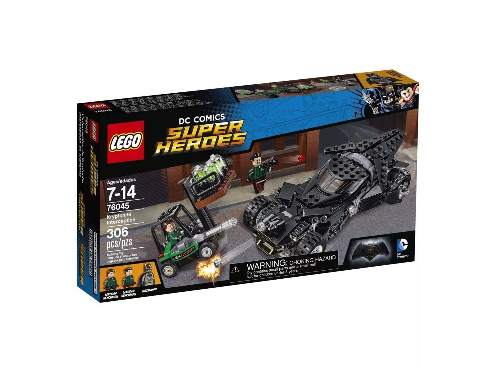 Nuevo LEGO DC Comics Super Heroes kypyonite interceptación 76045 Modelo  22183167