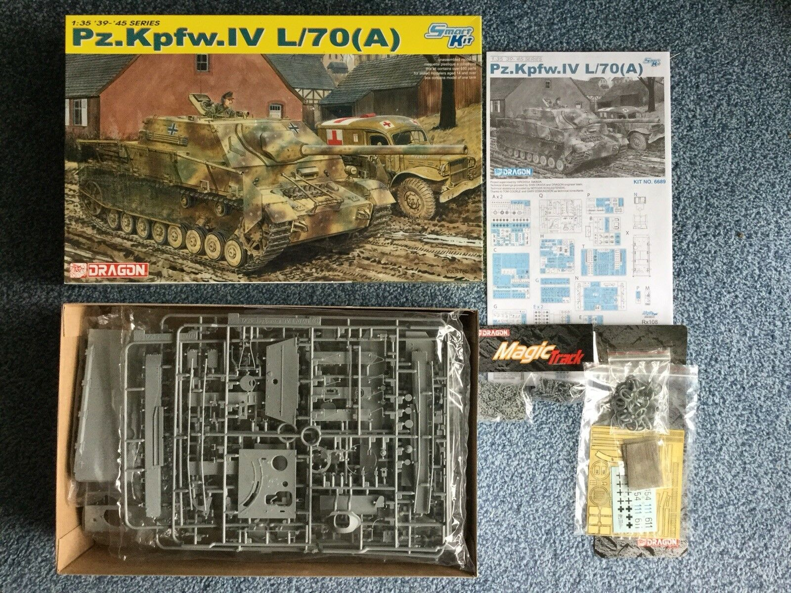 Dragon 1 35 Pz.Kpfw.IV L 70(A) model kit