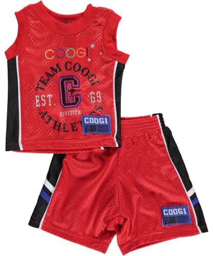 Boys Coogi 2-Piece Outfit Shirt /& Shorts Set NWT Size 12 Months