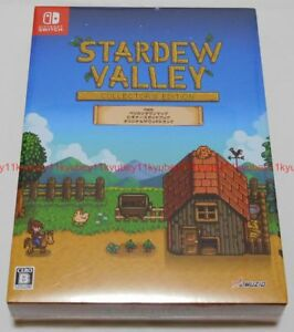 New-Nintendo-Switch-Stardew-Valley-Collector-039-s-Edition-Soundtrack-CD-Book-Japan