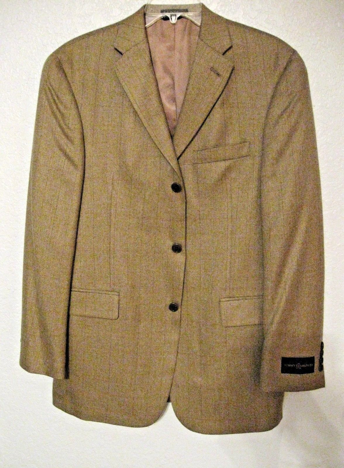 Tommy Hilfiger Sports Coat Größe 38 Reg. Light Braun and Tan MSRP 325 NWT  7560