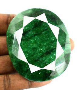 Brazilian Green Emerald Gemstone 756.30 Carat Oval Cut Natural Christmas Sale