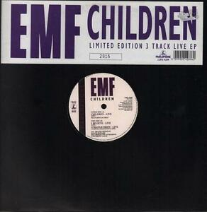 EMF-12-034-vinyl-Children-Live-EP-Parlophone-12RX-6288-UK-1991-VG-Ex