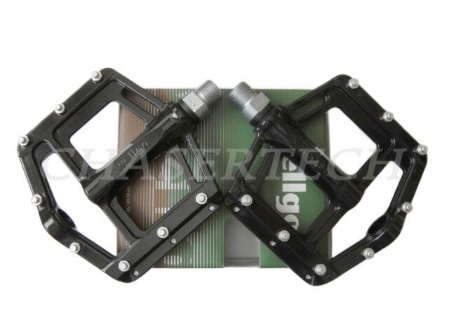 "New Wellgo MG-21 BMX Bicycle Bike Magnesium Pedals 9//16/"" Black"