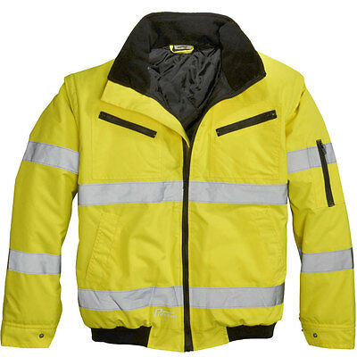 Imported From Abroad Warnschutz-pilotenjacke Gr Gelb 100 % Polyester S Prevent Fb 4xl