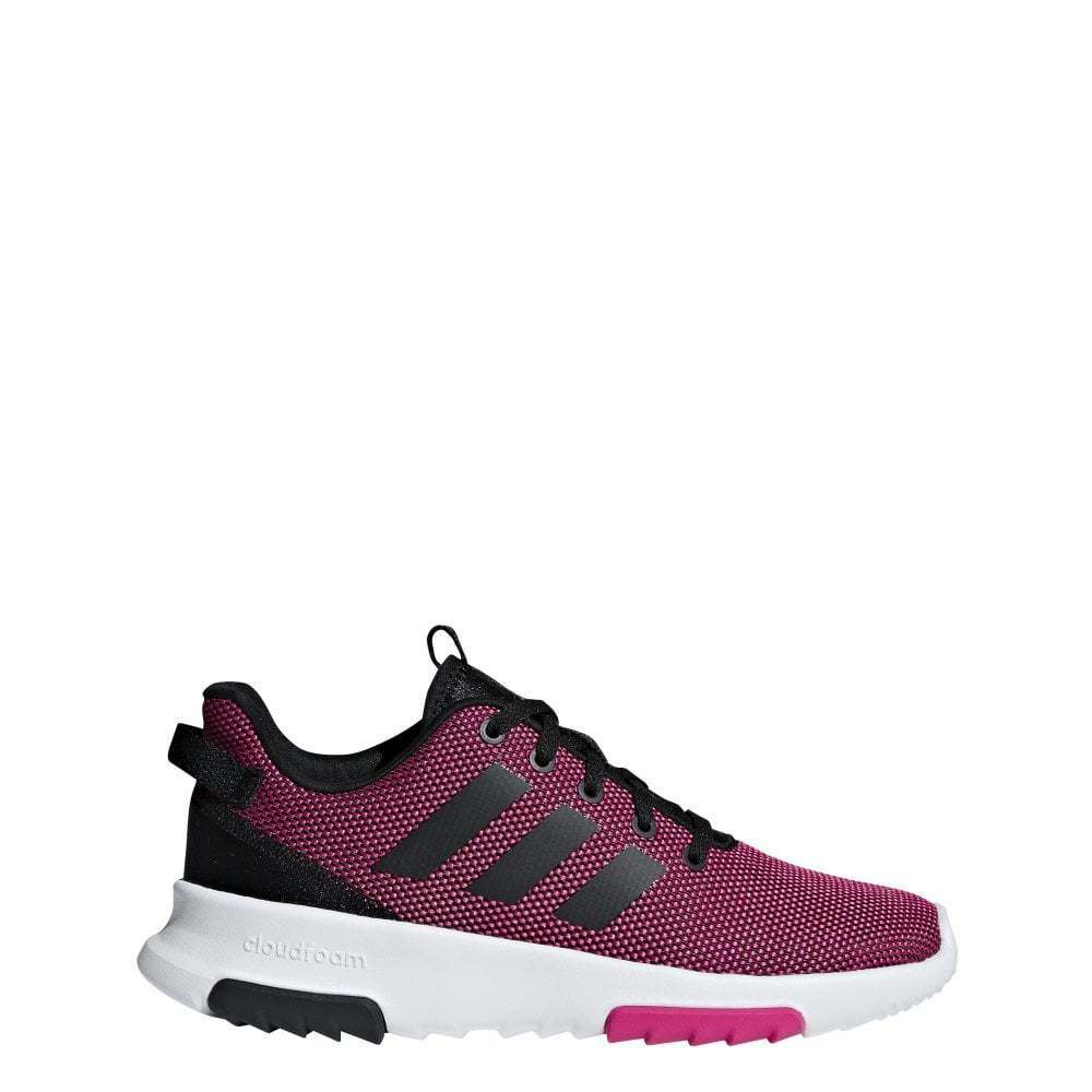 Adidas Girls Cloudfoam Racer TR shoes (Sizes 3-5.5)   counter genuine