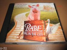 BABE 2 PIG in CITY soundtrack CD edith piaf PETER GABRIEL chieftains MAVERICKS