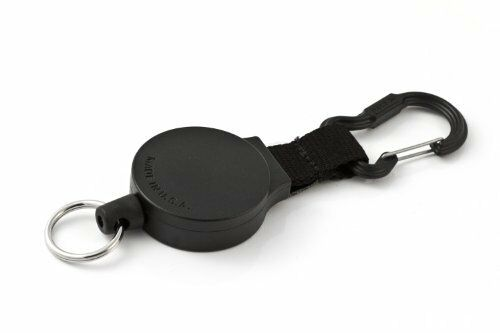 Heavy Duty Retractable Carabiner Key Reel with 36 Inch Polyester Cord