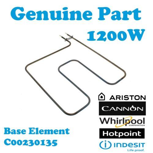 T EW84P originale da Forno Inferiore Elemento Base 1200W Hotpoint EW84K EW84K