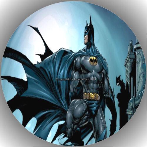 Esspapier Tortenaufleger Tortenbild Geburtstag Batman /& Superman  T13 A30
