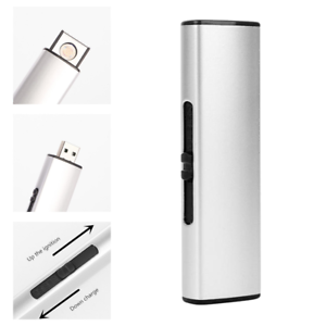 USB-Lighter-Rechargeable-Electronic-Lighter-Metal-Cigarette-Turbo-Lighter-Flame
