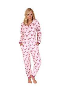 buy popular 067ae 4027f Details zu Damen Schlafanzug Einteiler Jumpsuit Onesie Overall langarm -267  97 001
