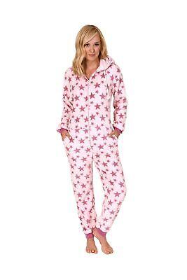 267 97 004 Damen Schlafanzug Einteiler Jumpsuit Onesie Overall langarm