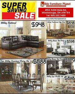 ASHLEY & IMPORT  SOFA, BED & DINING SALE City of Toronto Toronto (GTA) Preview