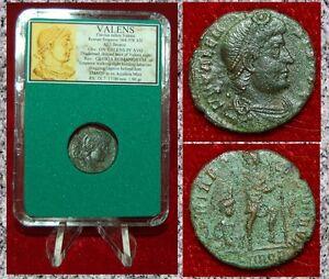 Ancient-Roman-Empire-Coin-Of-VALENS-Emperor-Dragging-Captive-Dramatic-Scene-Coin