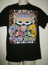 1997 SUPER BOWL XXXI Shirt M PATRIOTS PACKERS Tee MEDIUM NFL Football ORLEANS LA