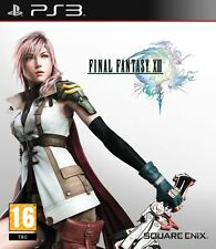 gioco prima release FINAL FANTASY XIII 13 PS3 sigillato BRAND NEW SEALED SQUARE