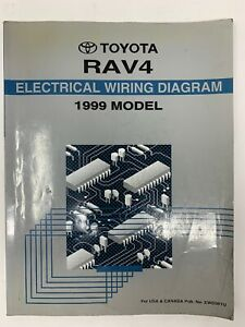 1999 Toyota Rav4 Electrical Wiring Diagram Repair Manual ...