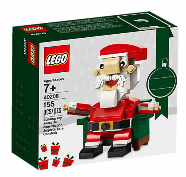 LEGO Seasonal Santa 2016 40206 Christmas Holiday