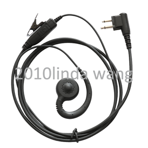HKLN4604 Earpiece For  Motorola CP040 CP150 CP180 CP200 CP200D CT250 Radio