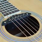 Belcat Soundhole Pickup with Active Power Jack for Acoustic Guitar Parts black