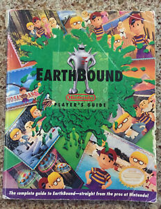 Earthbound-Super-Nintendo-SNES-Player-039-s-Guide-Strategy-Guide-no-stickers