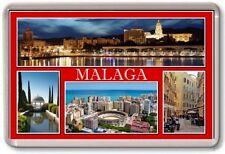 FRIDGE MAGNET - MALAGA - Large - Spain TOURIST