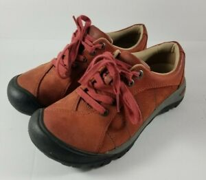 Keen-Presidio-Burnt-Henna-Hiking-Shoes-Womens-Size-6-EU-36-1009876-Lace-Up