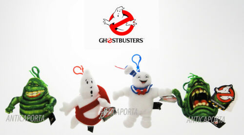 Peluche Portachiavi Ghostbusters 3 Originali 2016 Slimer Marshmallow Fantasma
