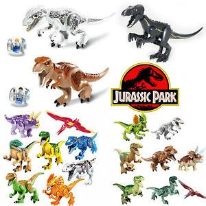 LEGO-MINIFIGURES-DINOSAURI-LARGE-JURASSIC-PARK-INDOMINUS-INDORAPTOR-CUSTOM-NUOVI
