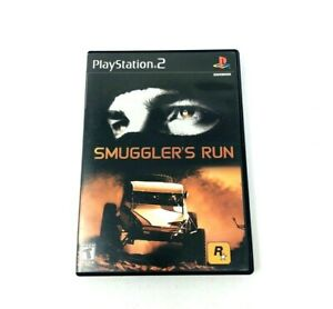PS2-Smuggler-039-s-Run-Sony-PlayStation-2-2002-Complete-Tested-free-fast-shipping