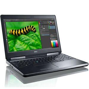 """Dell Precision 15 Mobile WS (15.6"""" Intel Quad Core i7-6820, 512GB SSD, 16GB RAM"""