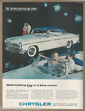 1955 CHRYSLER WINDSOR advertisement, hardtop and convertible, large size advert