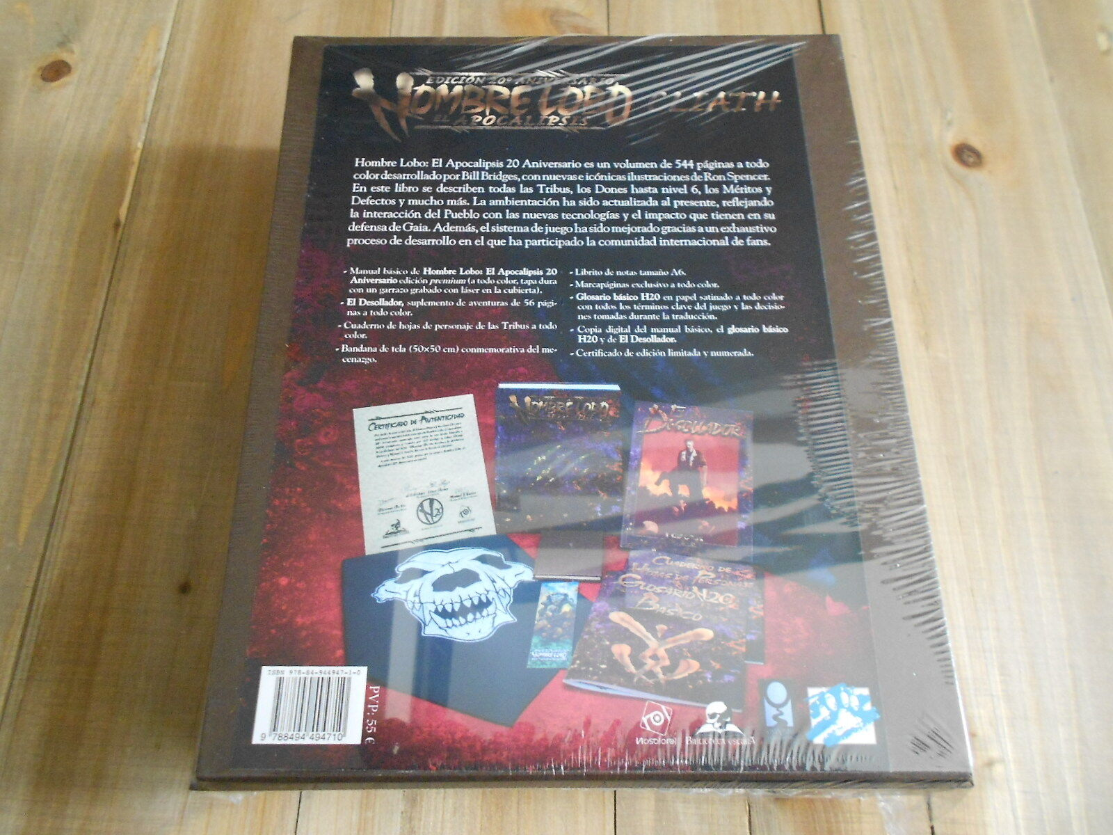 Man Wolf 20 Anniversary - - - Box Patronage Cliath - Role Play - Premium Edition 461eab