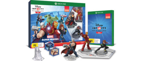 1 of 1 - Disney Infinity 2.0 Marvel Super Heroes Starter Pack Xbox ONE *NEW* + Warranty!!