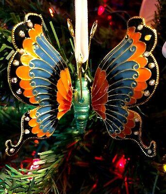 Dillards Trimsetter Tropical Beta Fish Cloisonne Christmas Ornament NIB 2019