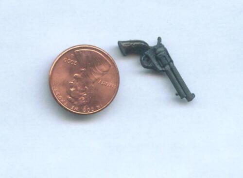 Miniature Dollhouse Western Handgun Dark Grip   202