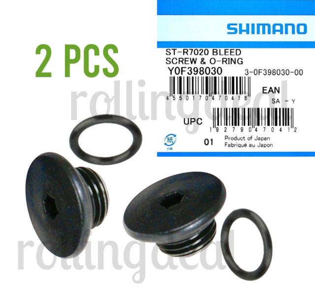 Shimano Bleed Screw /& O-Ring Kit