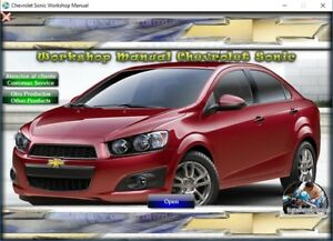 workshop manual or repair manual for chevrolet sonic new aveo 2012 rh ebay com Online Repair Manuals Auto Repair Manuals Online