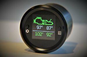 Engine-amp-Transmission-temperature-52mm-gauge-visual-audible-overheating-alarm