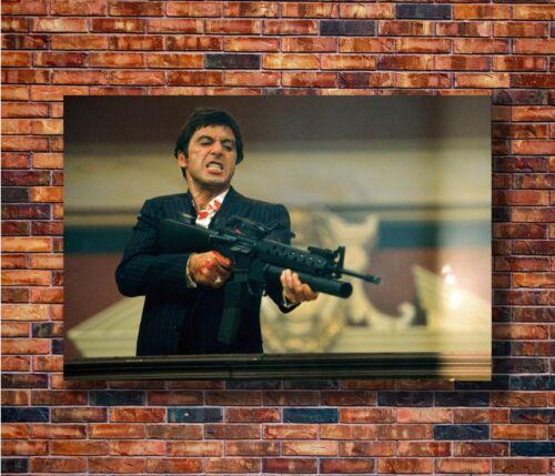 T1937 20x30 24x36 Silk Poster Scarface Classic Movie Al Pacino Art Print