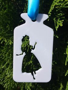 3d Printed Christmas Ornaments.Details About Alice In Wonderland Christmas Ornament Drink Me Bottle Disney 3d Printed