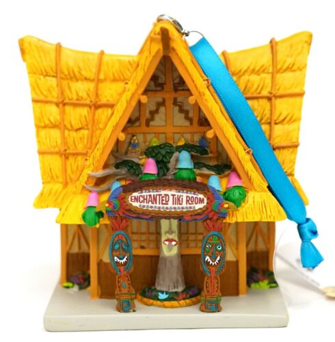 New Disney Parks 2020 Enchanted Tiki Room Attraction Miniature Holiday Ornament