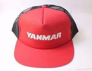 1beddf1922e YANMAR Hat Cap Baseball S Farm Equipment Tractor CUB CADET Nylon ...