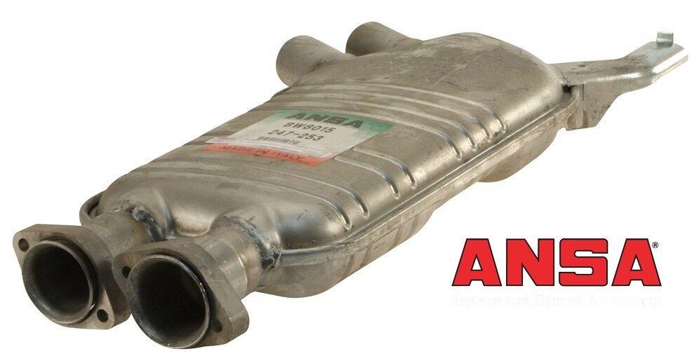 Rear BW8117 Muffler ANSA