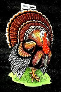 "Beistle 18"" x 12"" Thanksgiving TURKEY Holiday DOOR ..."